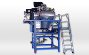 Solvent recycling units SRU-320 to SRU-3000